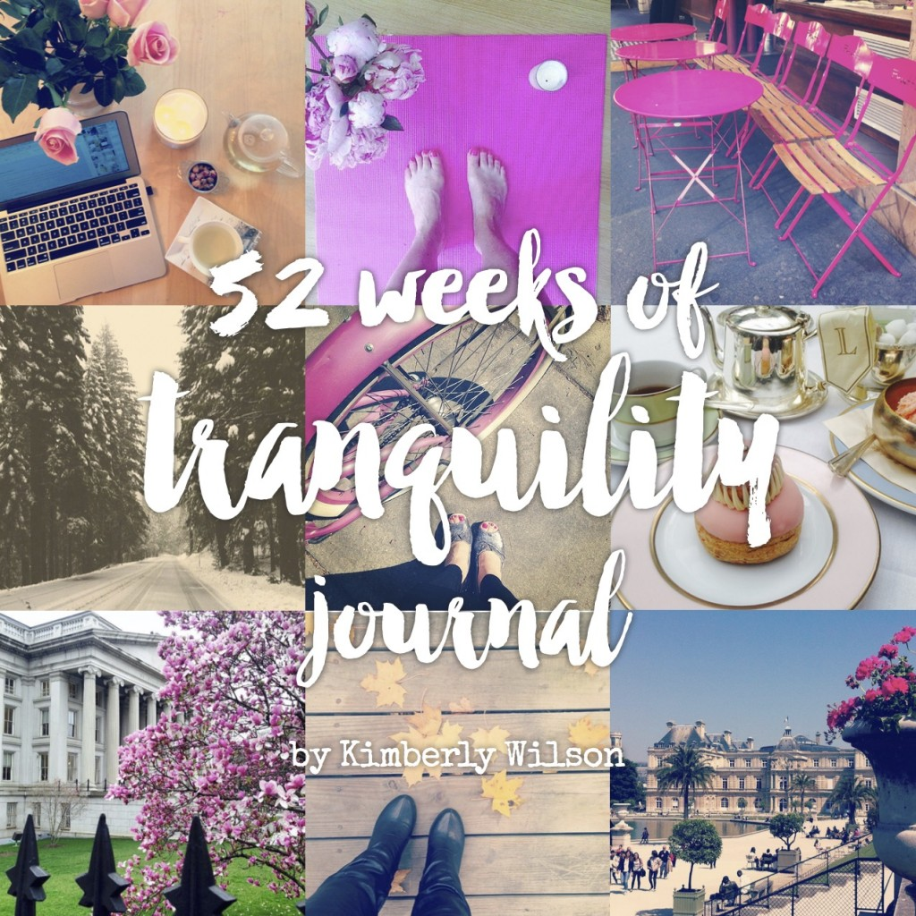 52 weeks of tranquility journal
